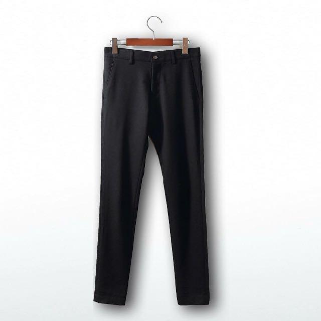全新黑色西裝褲 S 號