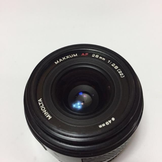 限時特價 Sony a適用 Minolta AF 28mm f2.8