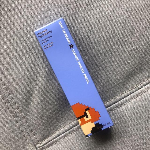 植村秀 Super Mario 深海水能量保濕護唇精華