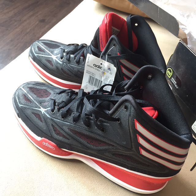 release date f1b39 bad20 Adidas adizero crazy light 3, Sports, Sports  Games Equipment on Carousell