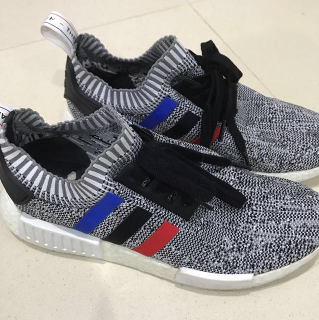 outlet store 7d8d9 3e871 Adidas NMD Tri Colour grey authentic