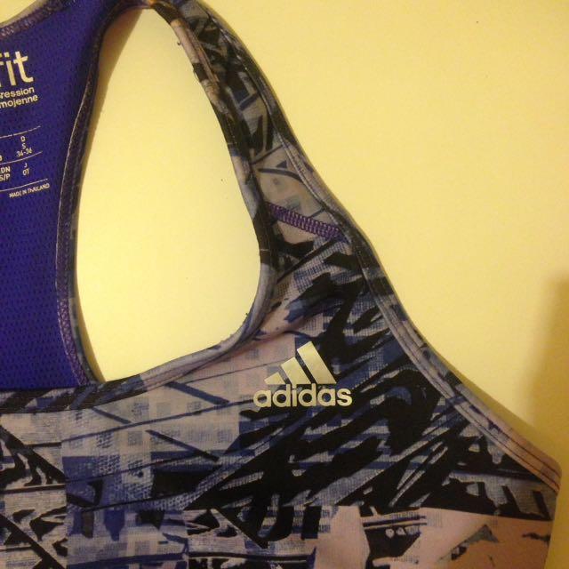 Adidas sports bra/crop