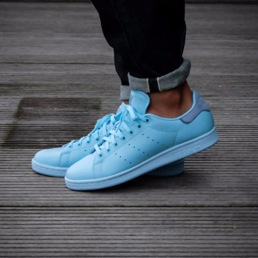 100% authentic 65a7c 3753f czech adidas stan smith icey blue tactile blue ed896 219aa