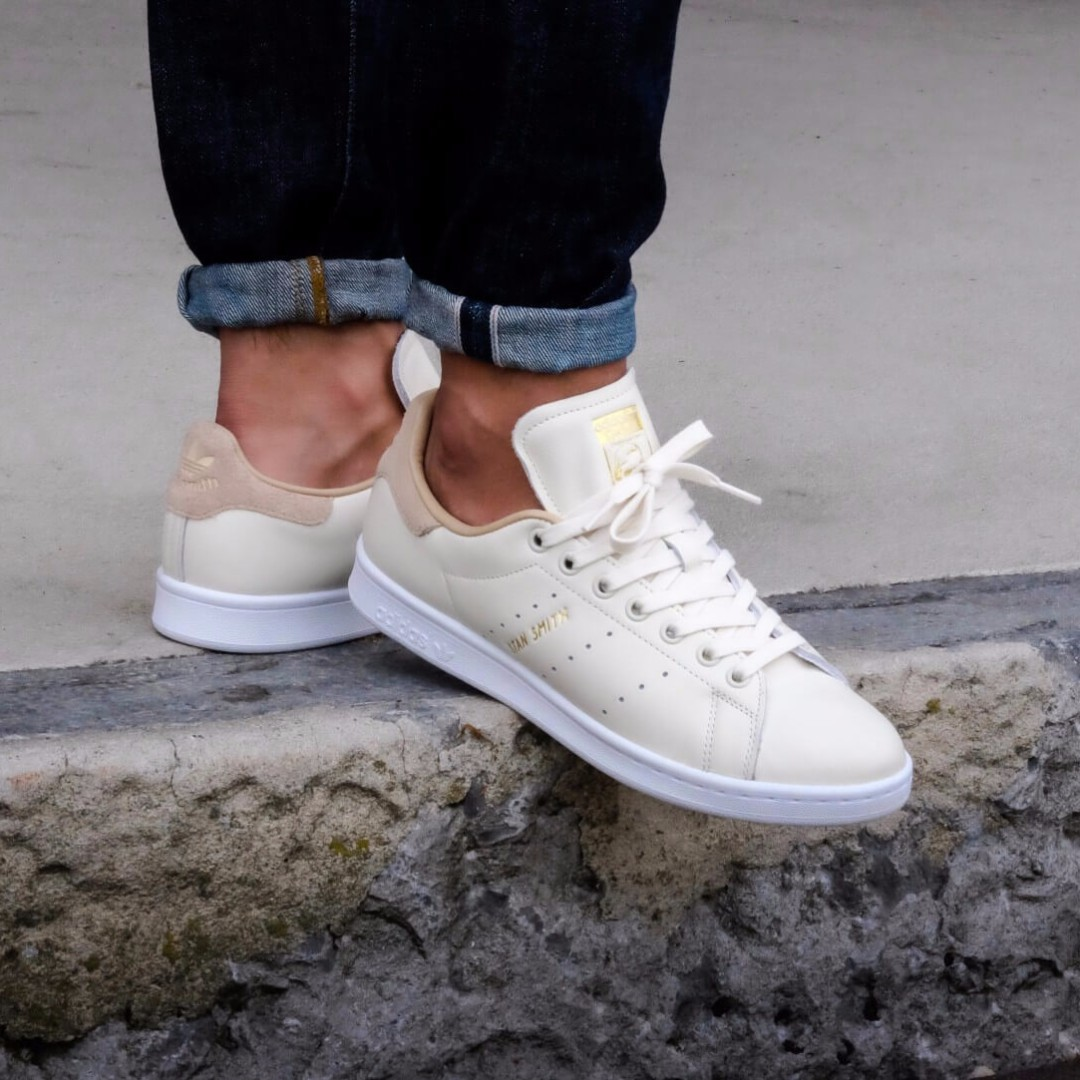 916b040ddb0d3 Adidas Stan Smith - Off White Pale Nude  AUTHENTIC