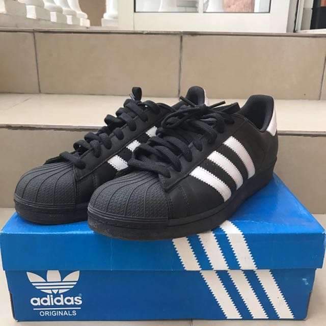 Adidas Superstar black & white 100% ORIGINAL