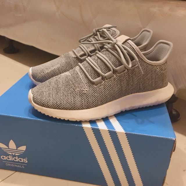 Adidas tubular 女 灰色 運動鞋