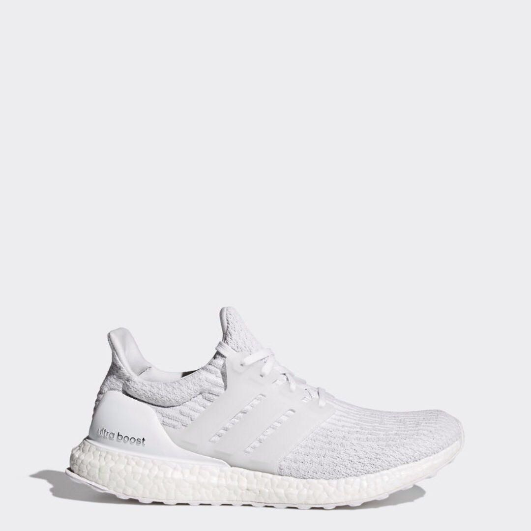 09276a01de262 Adidas ULTRABOOST 3.0 Triple White UK10   US10.5 for Sale