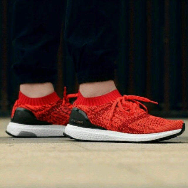 770aa0c1a Adidas ultraboost uncaged solar red