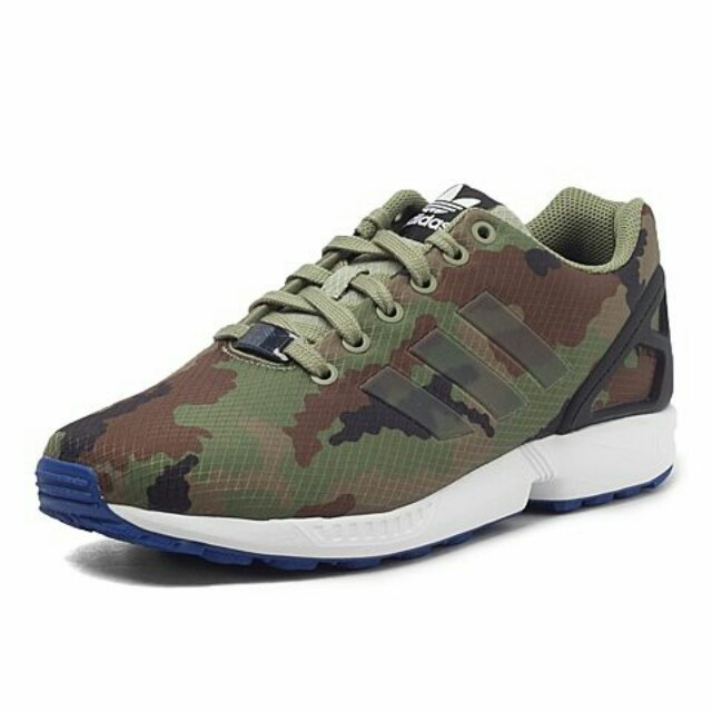 best authentic 40949 145ec Adidas zx flux camo (ori)