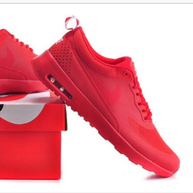 Air max Thea triple red