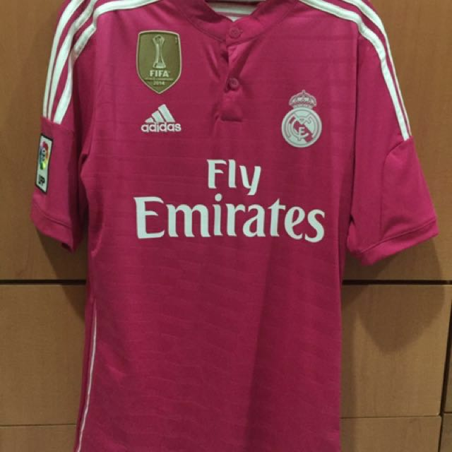 6878f6f6d Authentic BNWT Real Madrid 14 15 Away Jersey Size S