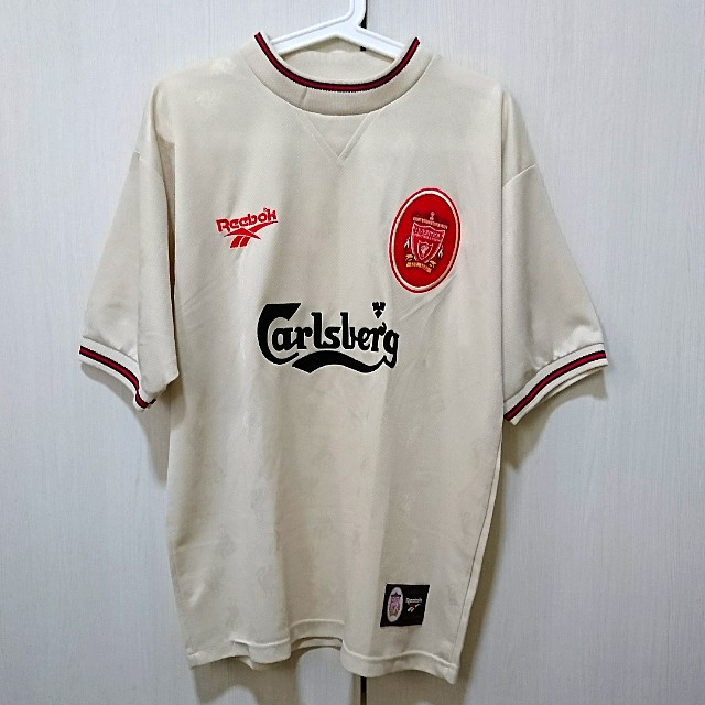 new styles 277f5 5e490 Authentic Liverpool Away Jersey 97/98, Men's Fashion ...