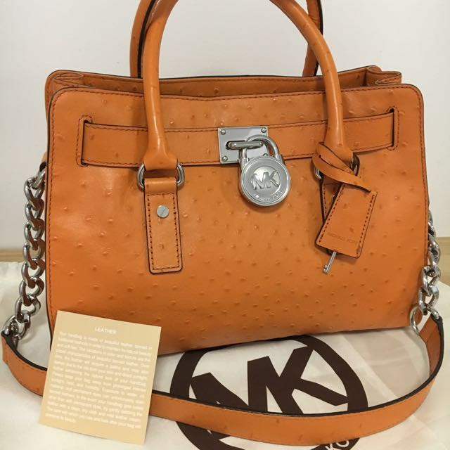 Authentic Michael Kors Hamilton Medium Satchel   *** Christmas Special  ***  Buy any 2 handbags & Get $100 off the total purchase price