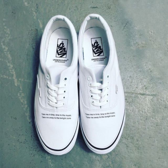 751d6e54a4 Authentic Undercover x Vans Vault Era LX White