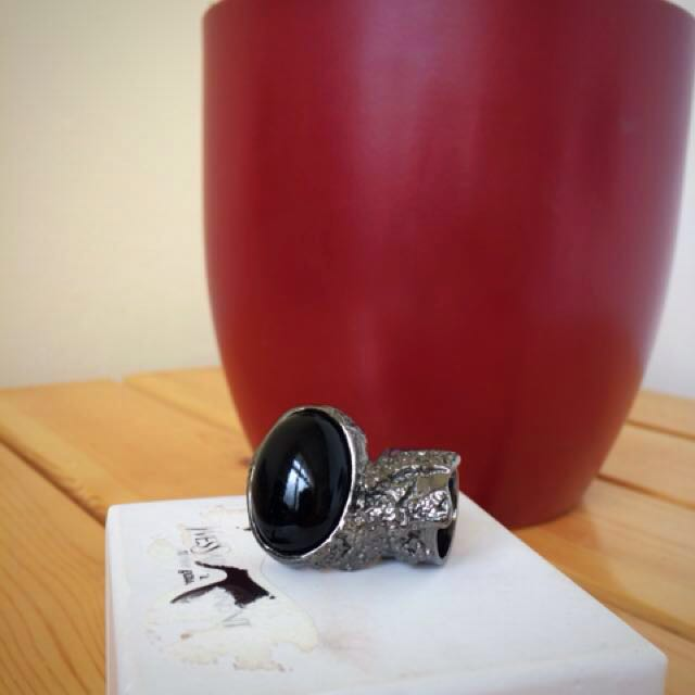 Authentic YSL arty ring