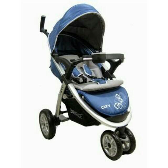 Baby Elle S700 Curv Blue Stroller