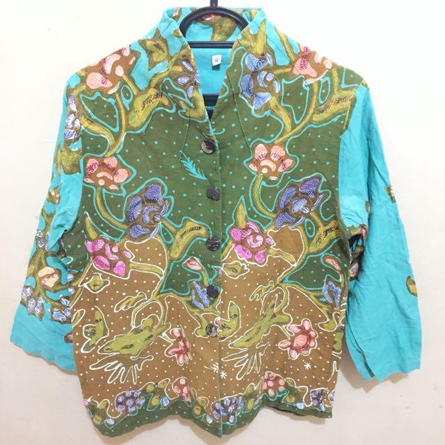 Batik shanghai top