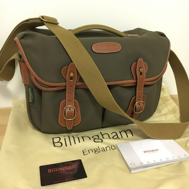 Billingham Hadley Pro FibreNyte Bag For Camera - Sage/Tan    *** Christmas Special  ***  Buy any 2 handbags & Get $100 off the total purchase price
