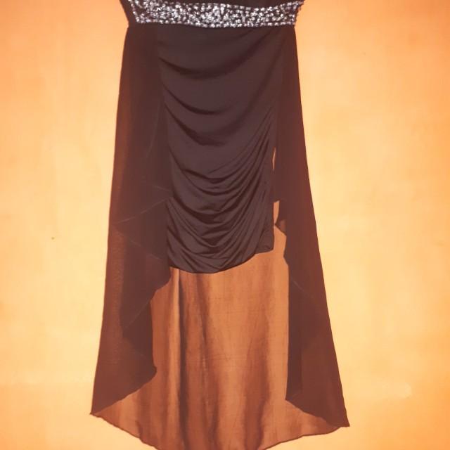 Black dress tube