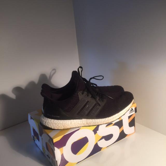 Black ultra boost