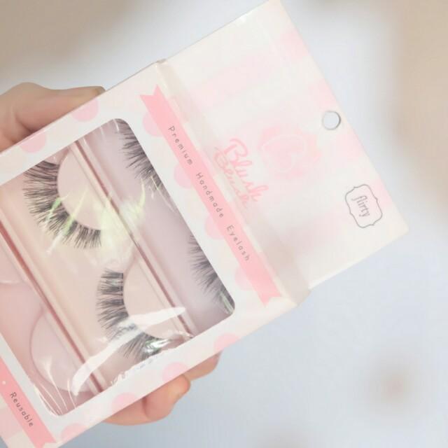 Blush Eyelash Premium Faux Lashes