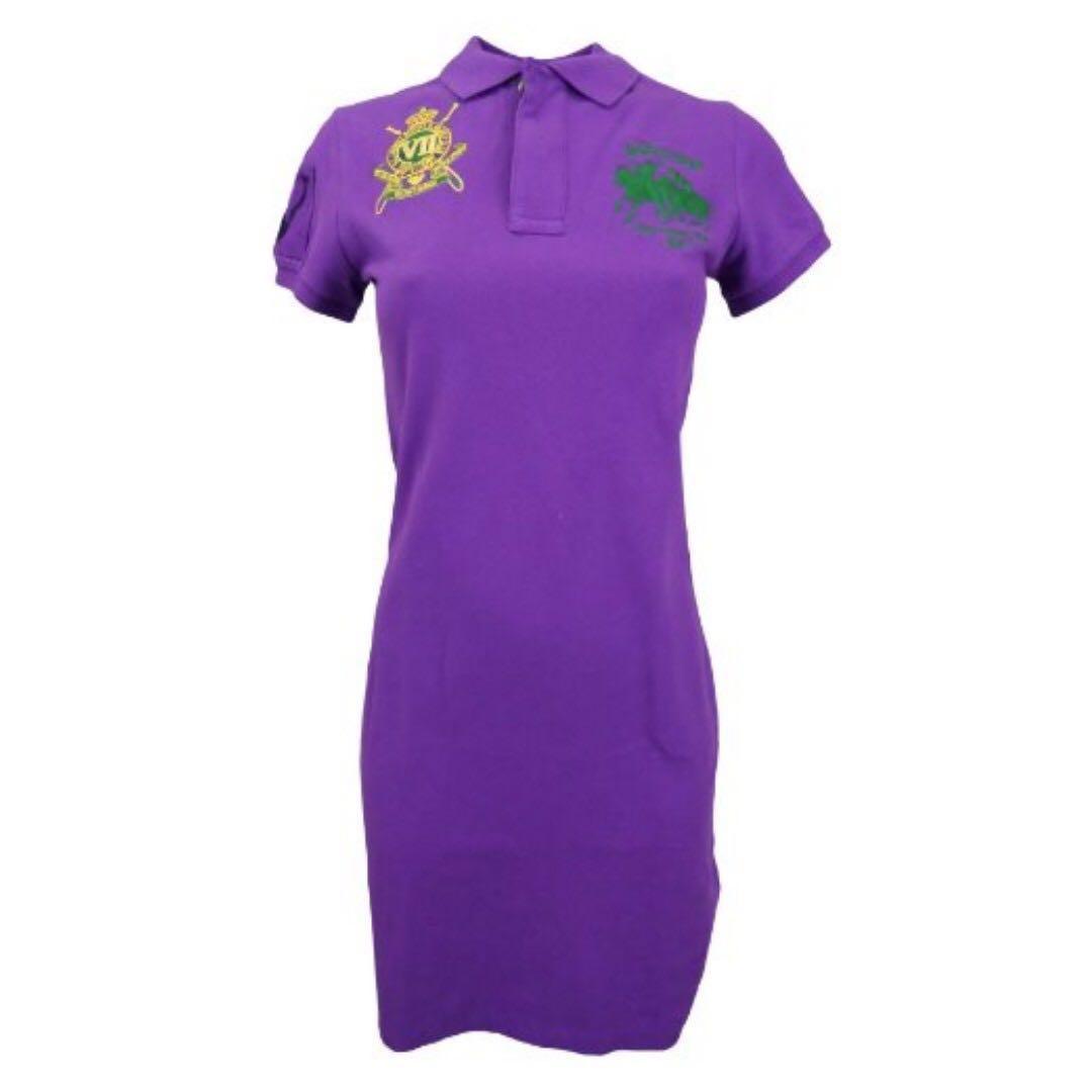 BNWT Authentic Ladies Ralph Lauren Sport Womens Polo Dress