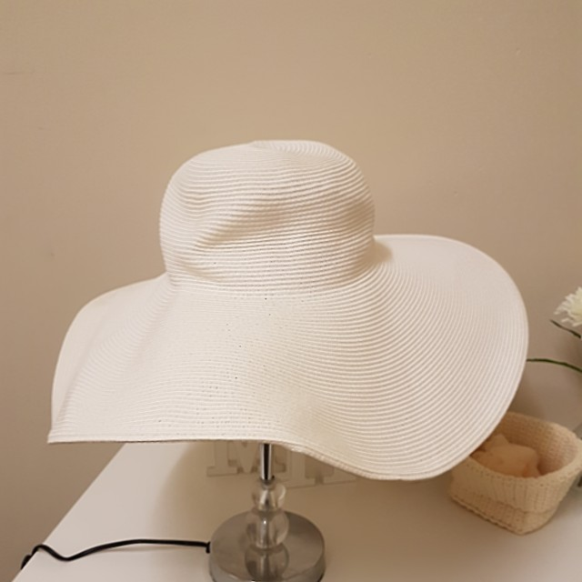 Bondi beach bag co large floppy hat