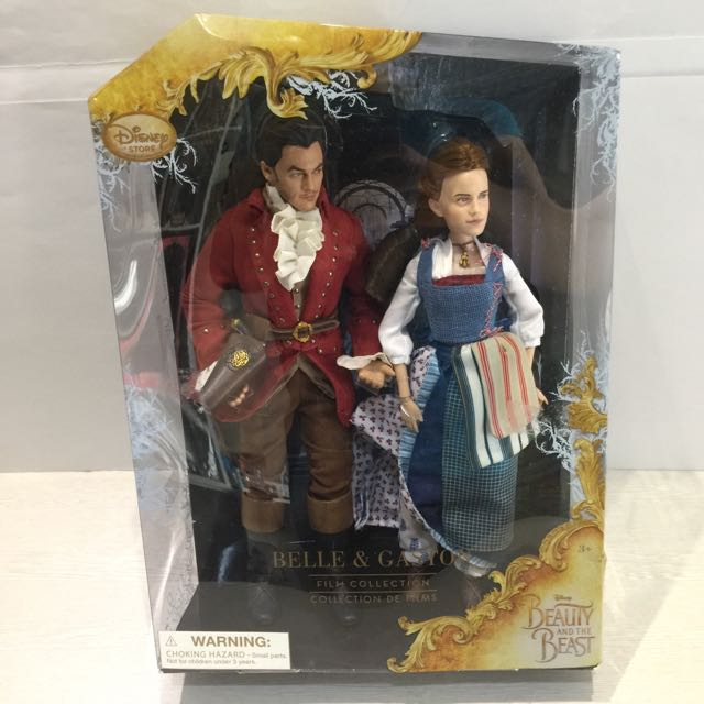 Boneka Disney Store Film Collection Beauty and The Beast - Bellw & Gaston Swg