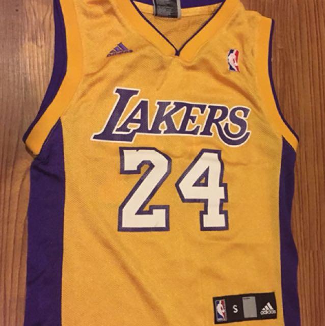 Boys 90's Vintage Kobe Bryant Jersey