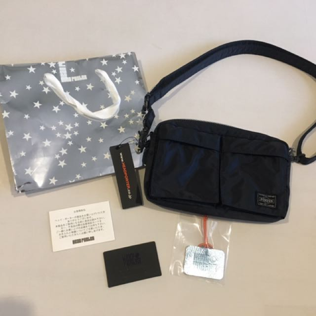 Brand New with Tag Porter Bag size small (complete set) Bought in Japan