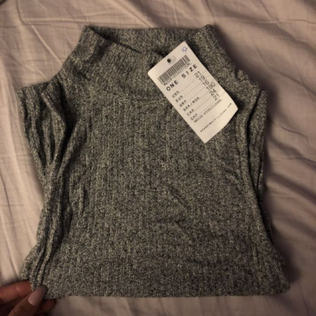 Brandy Melville turtleneck tank top