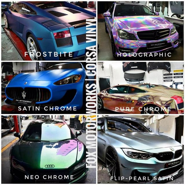 Car Sticker Wrap Car Vinyl 3m Wrap Car Accessories On Carousell