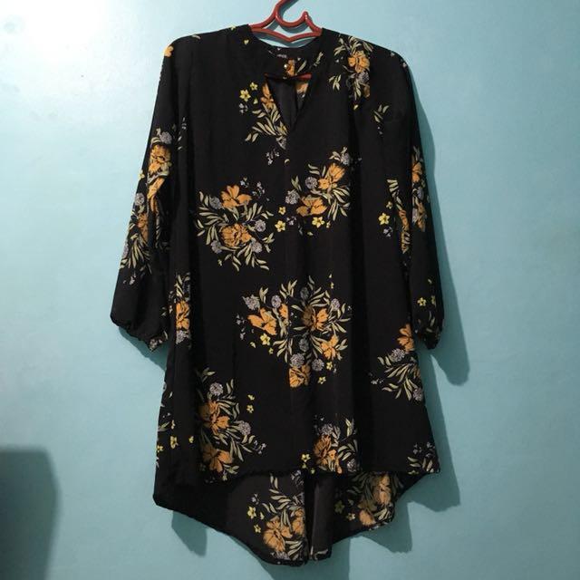 Choker Black Dress