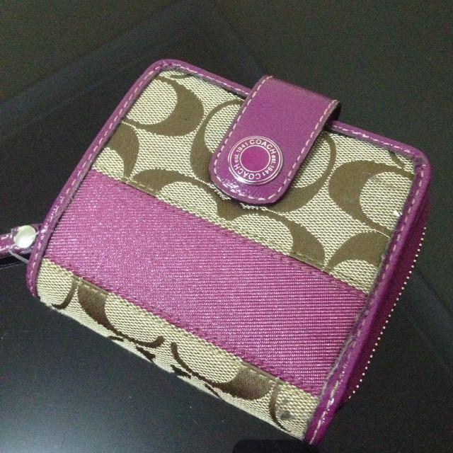 Coach wallet replica