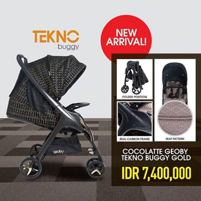 Cocolatte geoby tekno buggy gold