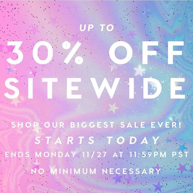 Colourpop Cyber Monday Sale [Batch 4]