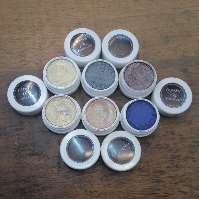 Colourpop Eyeshadows: Crimper, Un, Bento Box, School Bus, Juicy Apple, 3 (Bundle)