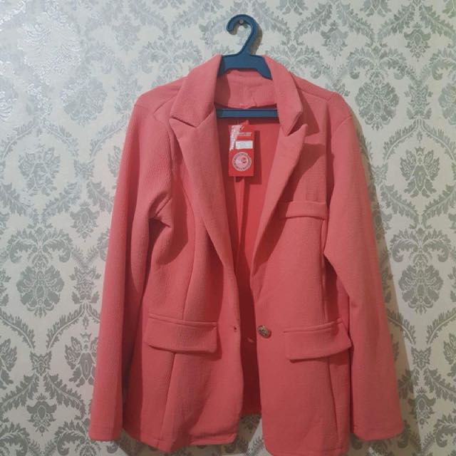Corporate Blazer (Orange/Tangerine)