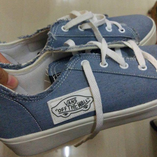 denim shoes sepatu jeans