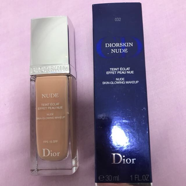 Dior skin nude skin glowing foundation 032 100% authentic