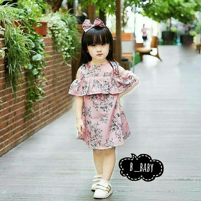 Dress Anak Sabrina Motif