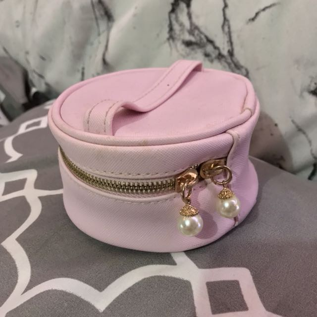 Etude House travel pouch with earrings slot.