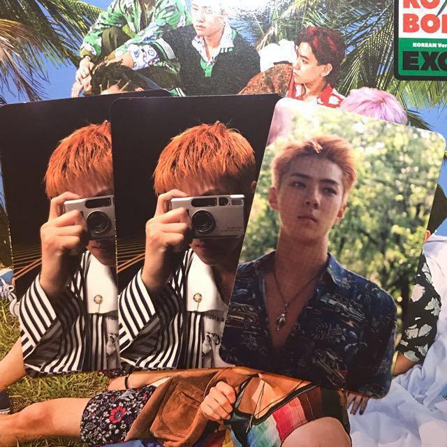EXO Sehun The War Kokobop Photocards B