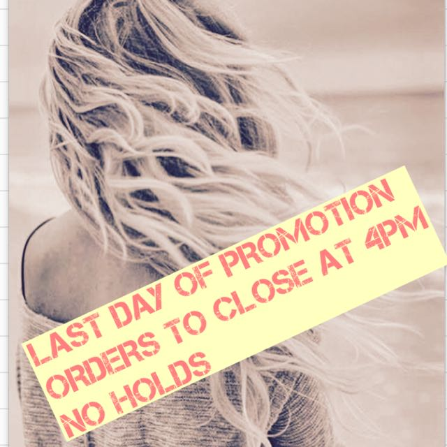 FINAL DAY - COMPLIMENTARY PRAVANA HAIR CARE KIT COMPLIMENTARY WITH ALL NEW HAIR EXTENSION INVOICES AND LAY-BYS