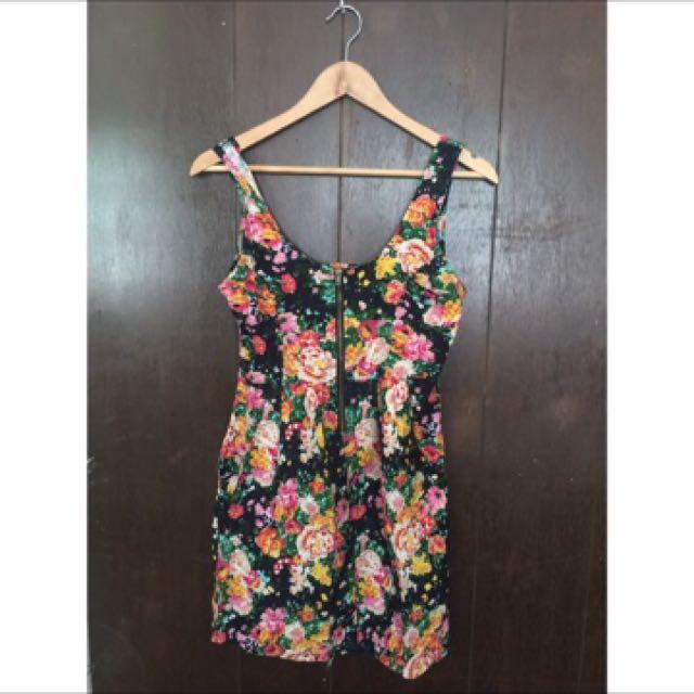 Floral dress MINT