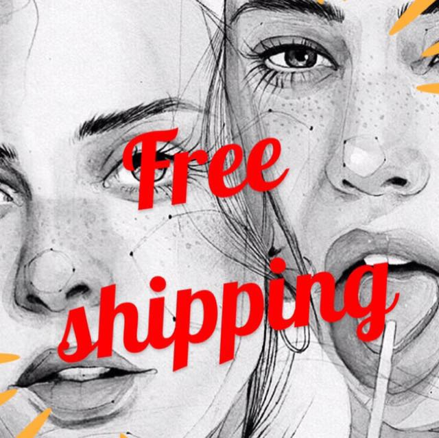 FREE SHIPPING! 😍