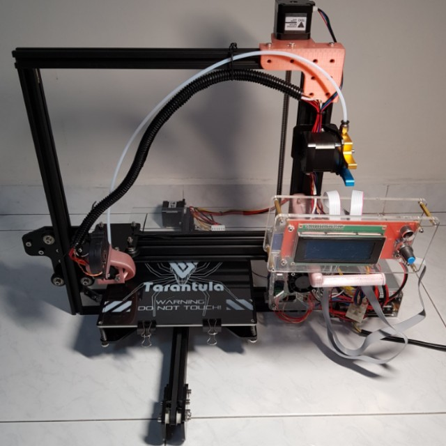 FULLY CALIBRATED ASSEMBLED BRAND NEW Tevo Tarantula 3D printer