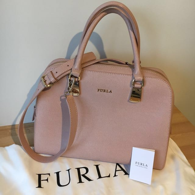 Furla Bag In Moonstone    *** Christmas Special  ***  Buy any 2 handbags & Get $100 off the total purchase price