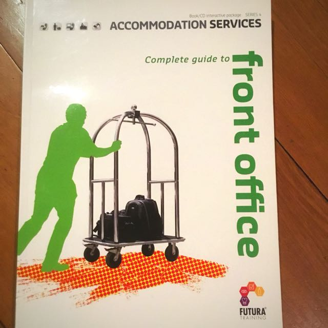 Futures training Complete Guide to Front Office-Accommodation services