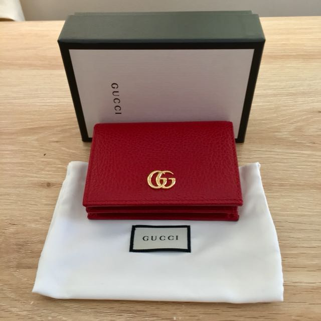 Gucci Card Case/Compact Wallet